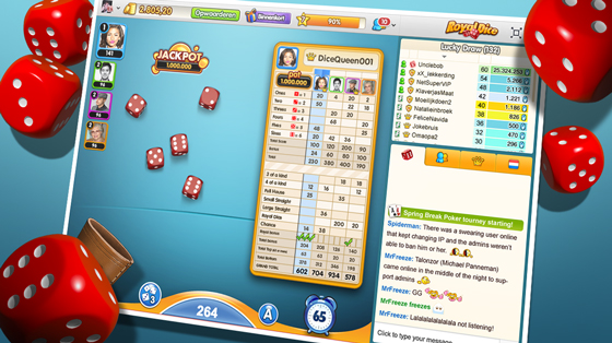 RoyalDice, dice game by GamePoint